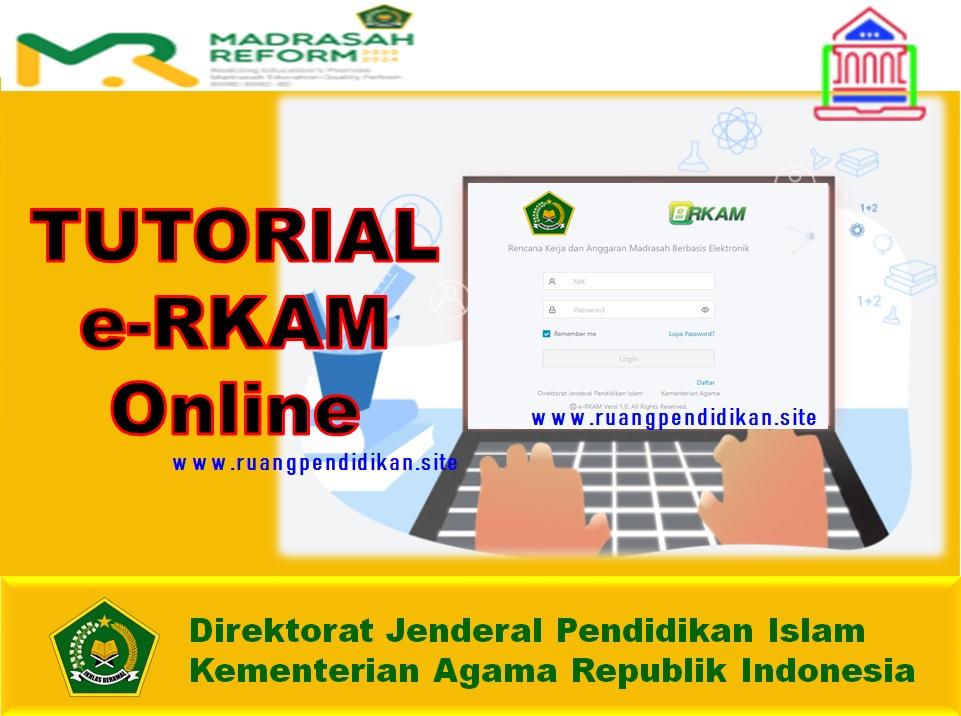 Cara Pengoprasian Aplikasi e-RKAM