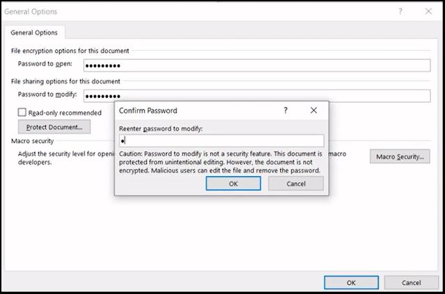 Word Document Par Password kaise lagaye