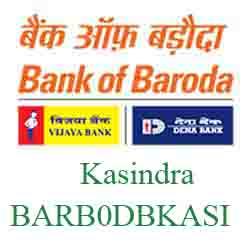 New IFSC Code Dena Bank of Baroda Kasindra