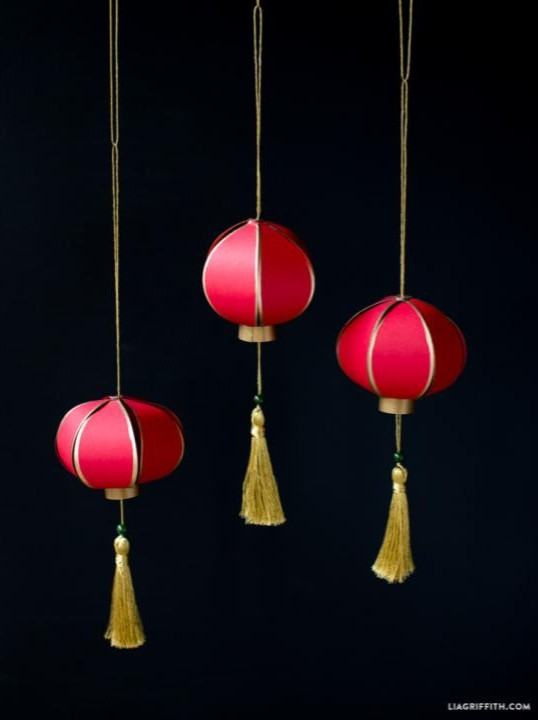 learn how to make a traditional Chinese Paper Lantern