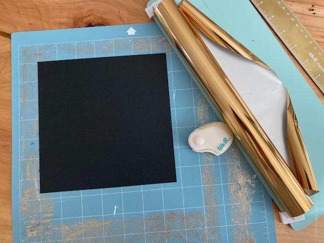 foil quill, foil quill silhouette, foil quill designs, foil quill hack, light grip mat