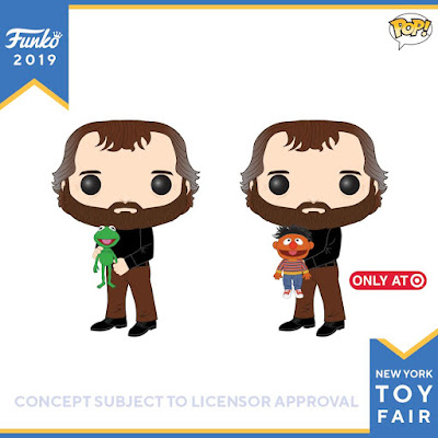 Jim Henson Pop! Icons Vinyl Figures with Kermit the Frog & Ernie by Funko