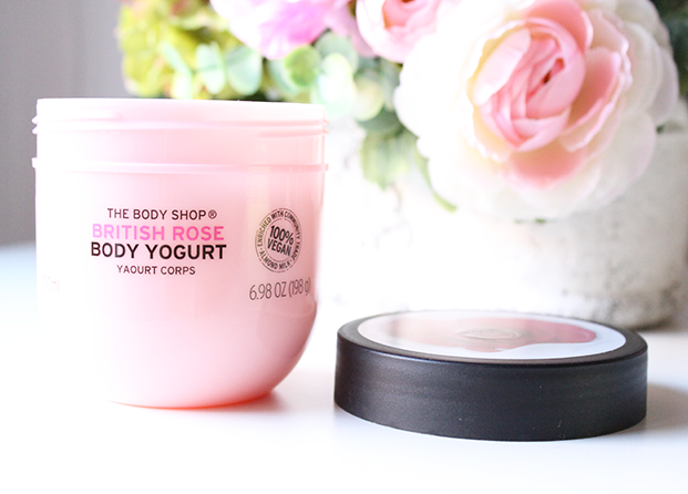 Body Yogurt British Rose