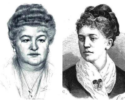 Emilia Pardo Bazán y Rosario de Acuña