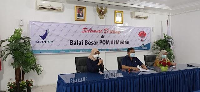 Hasil Pengawasan Periode Ramadan, BBPOM Medan Temukan 40% Sarana Distribusi Tak Penuhi Syarat