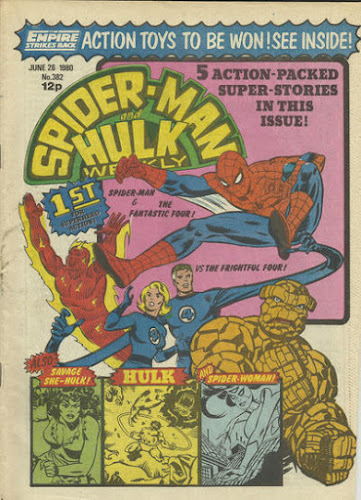 Spider-Man and the Hulk Weekly #382
