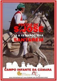 Programa das Festas de São José 2018 em Santarém