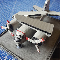 Canadian Navy Grumman CP 121 Tracker Made from Recycled Plastic - Coroplast DIY - CoroplastCreations.com - photos by: HalifaxSportsPhotos.ca