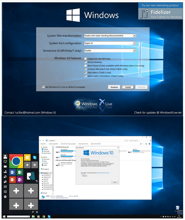 Windows 10 Transformation Pack 5 0 ~ Tips and Tricks