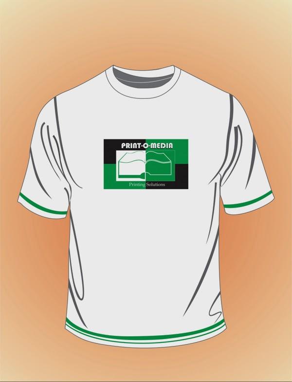 Print-o-Media T shirt