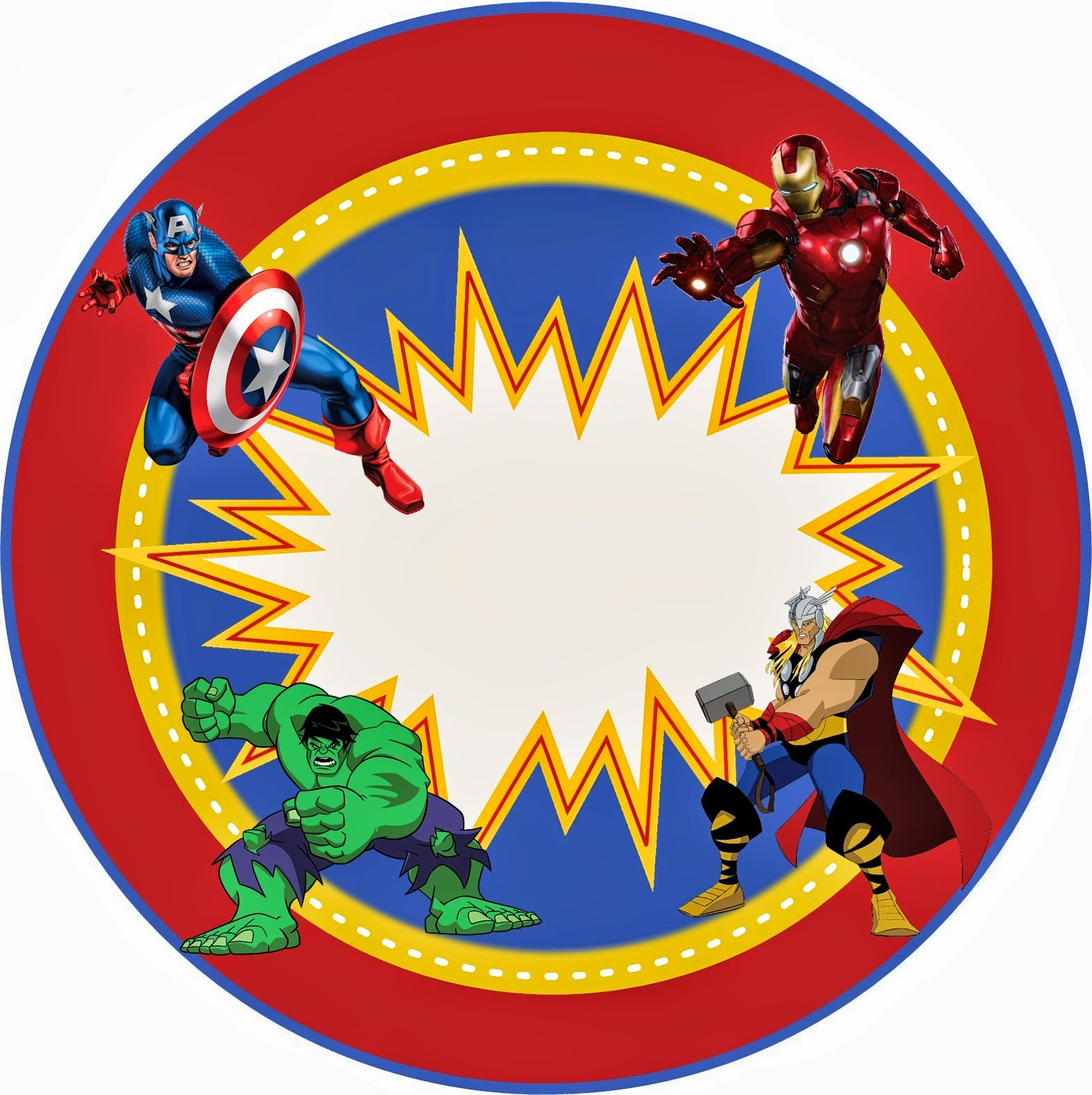 Avengers Free Printable Kit Oh My Fiesta in english