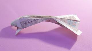 hướng dẫn cách xếp hình con cá koi bằng tiền giấy