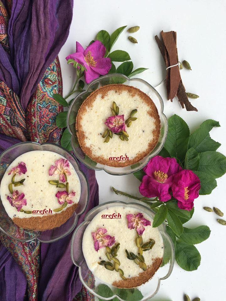 علت سفت شدن مربای آلبالو آشپزون : شیر برنج ایرانی