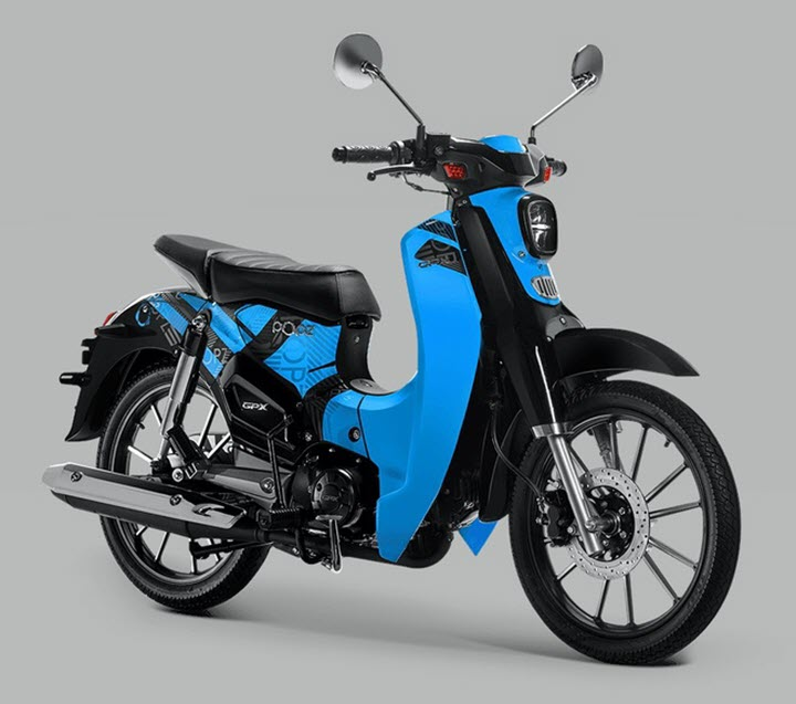GPX Super Cub Popz 110 - 'bản sao' Honda Super Cub sắp ra mắt