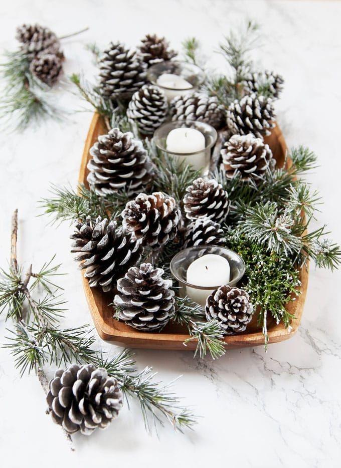 Decoração de Natal estilo escandinava simples