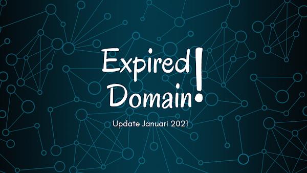 List Domain Expired by Ariez - Januari 2021