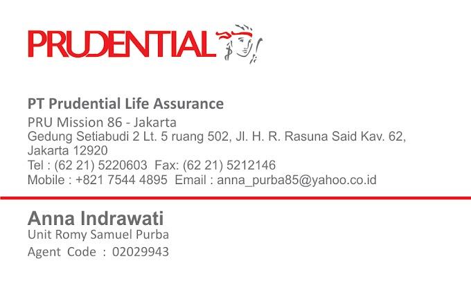 Kartu Nama Prudential