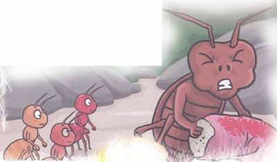 Dongeng Persahabatan Semut