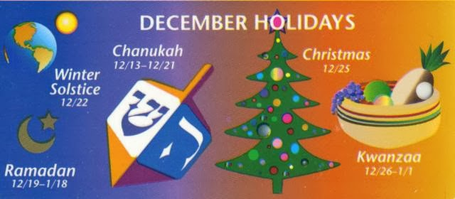 Christmas Hanukkah Kwanzaa And Other Holidays.All My Lives Now Chchchchanges Old School Blogging