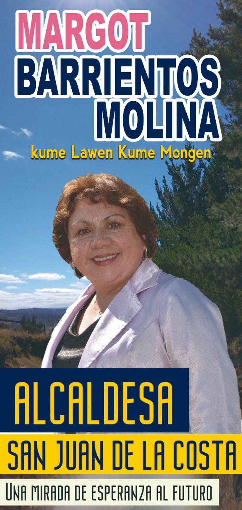 Lanzamiento de campaña de Margoth Barrientos Molina