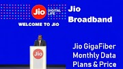jio broadband plans : Jio GigaFiber Plan & Price in India