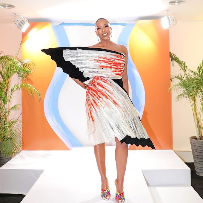 Have You Ever Seen A Gorgeous Couture Dress? Well Here's An Image Of One; A Weiz Dhurm Franklyn Dress On Fade Ogunro.