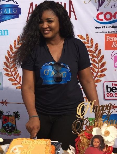 Photos: Mr Ibu (John Okafor), Grace Ama & More at Omotola ...