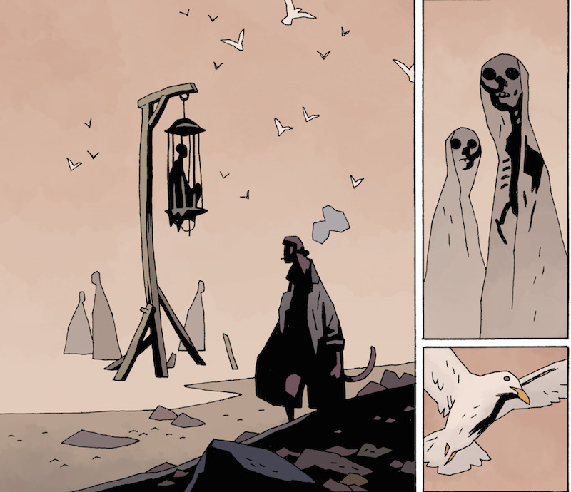 Hellboy in Hell #10. Hellboy created by Mike Mignola Colors: Dave Stewart Letters: Clem Robins Design: Cary Grazzini.