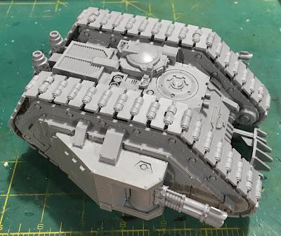 Land Raider Armoured Proteus WIP