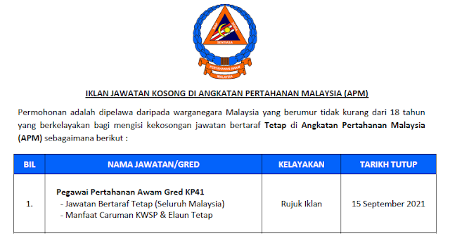 angkatan pertahanan malaysia