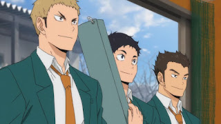 ハイキュー!! アニメ4期 | 伊達工業高校 3年生| DATE TECH HIGH | Hello Anime !