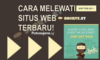 Cara Melewati Situs Web Sh.st Shortest Terbaru
