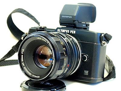 Olympus E-P5, Konica Hexanon AR 52mm f/1.8