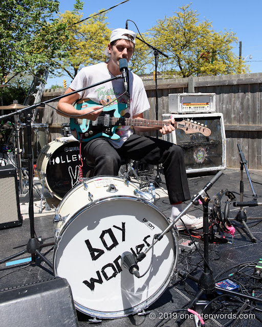 Boy Wonder at The Royal Mountain Records BBQ at NXNE on June 8, 2019 Photo by John Ordean at One In Ten Words oneintenwords.com toronto indie alternative live music blog concert photography pictures photos nikon d750 camera yyz photographer