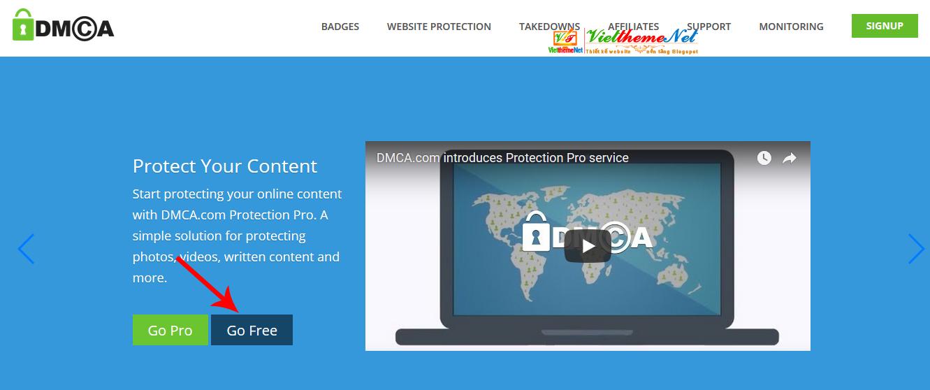 DMCA - Giải pháp bảo vệ bản quyền nội dung website hay blog