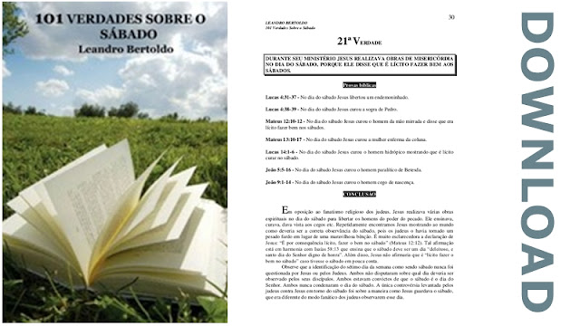 101 Verdades sobre o Sábado PDF download