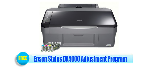 Epson Stylus DX4000 Adjustment Program