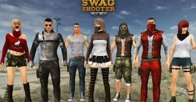 4.لعبة   Swag Shooter – Online & Offline Battle Royale Game