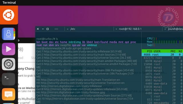 Ubuntu Unity 8 Terminal