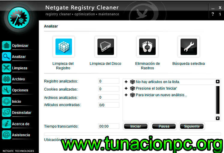NETGATE Registry Cleaner Full con Portable