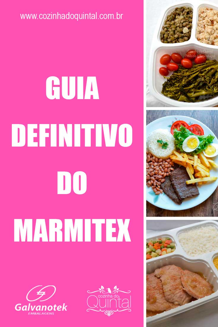 Guia Definitivo do Marmitex: tudo o que você precisa saber está na Cozinha do Quintal