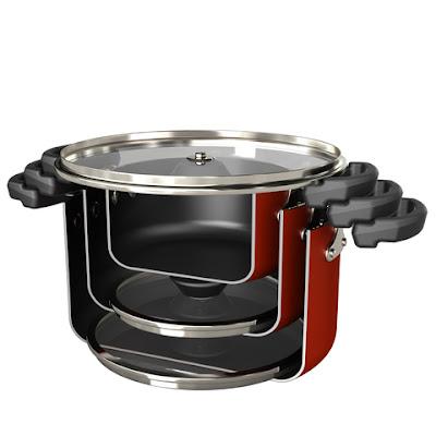 Farberware Neat Nest Space Saving 6-Piece Sauce Pot Set Giveaway #12daysofholidaygiveaways