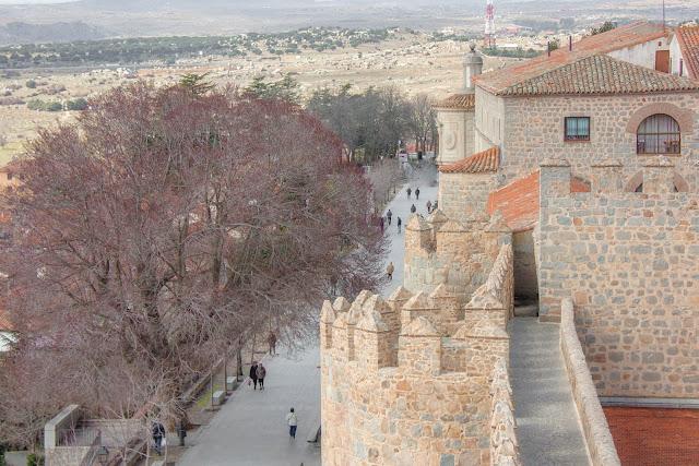 Muralhas de Ávila, na Espanha.