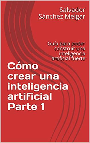 """Portada roja del libro en formato ebook """"Cómo crear una inteligencia artificial"""""""