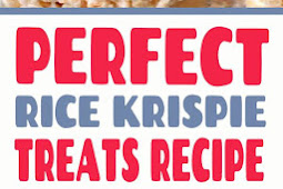 Perfect Rice Krispie Treats Recipe #nobake #ricekrispietreats #ricekrispie #treats