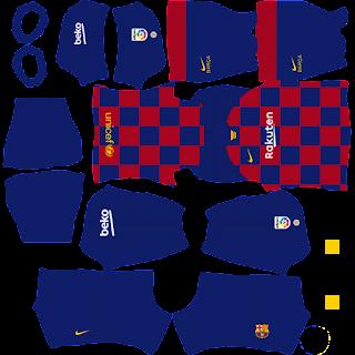 FC Barcelona - Dream League Soccer 2020 Kits