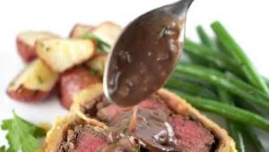 #Best #Dinner #Individual #Beef #Wellington #with #Mushroom #Sauce