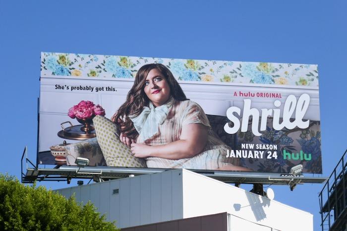 Aidy Bryant Shrill season 2 billboard