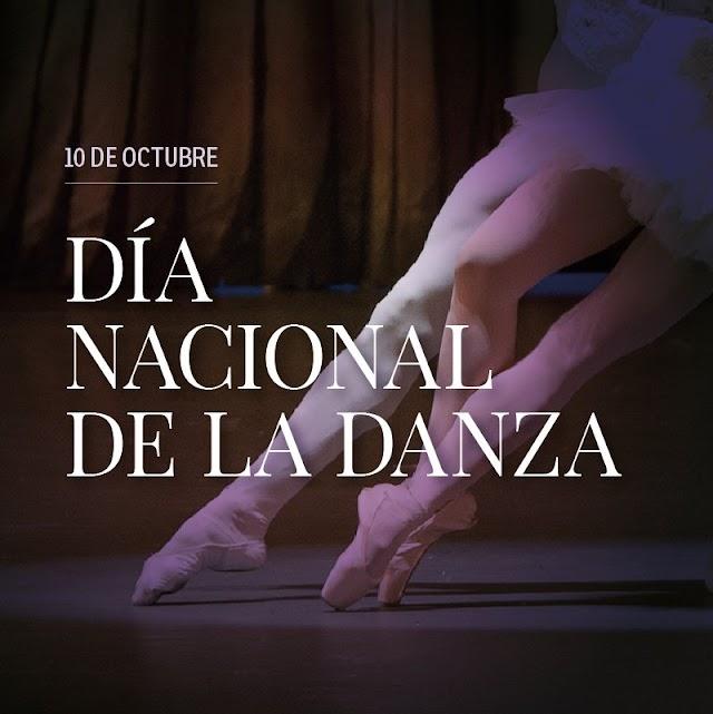 10 de Octubre Día Nacional de la Danza