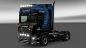 Scania Streamline M-Trans Line paintjob